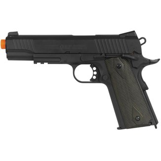 4dd097972 Pistola Airsoft CO2 Colt 1911 Rail Black Full Metal