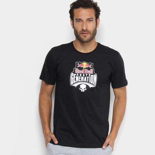 Camiseta Red Bull Skate Generation Masculina - Preto - Compre Agora ... 27e11a3bcdd