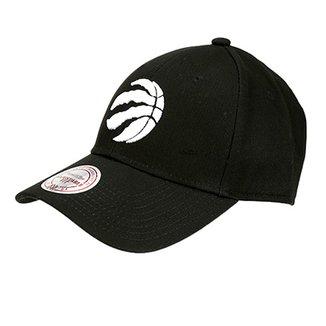 Boné NBA Toronto Raptors Mitchell   Ness Aba Curva Tea Log Low Pro S 98f9f153bd7