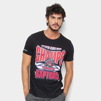 df308cee7c Camiseta Mitchell   Ness NBA Toronto Raptors Sportsman Crew Masculina