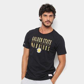 66ccea360cef6 Camisa Mitchell   Ness Golden State Warriors Masculina
