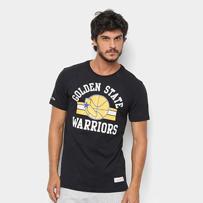Camisa Mitchell & Ness Golden State Warriors Masculina
