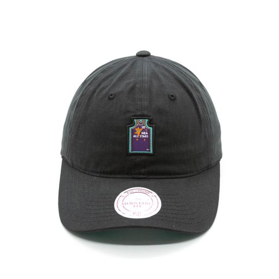 Boné mitchell   ness small jers dad hat nba all star dad hat - Preto ... af287388c5c