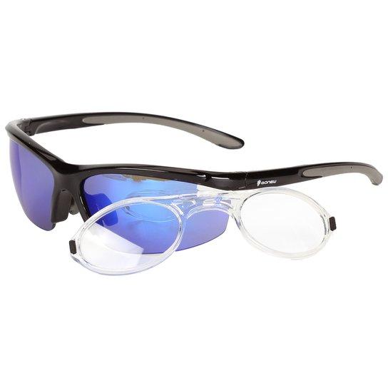 Óculos Gonew Fitter com Clip para Grau Removível - Polarizado - Preto 25cafa098d