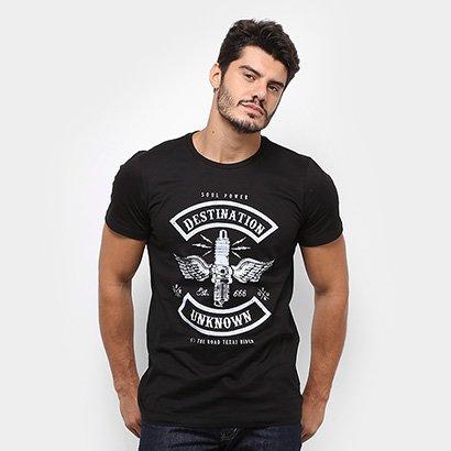 Camiseta GONEW Destination Unknown Masculina