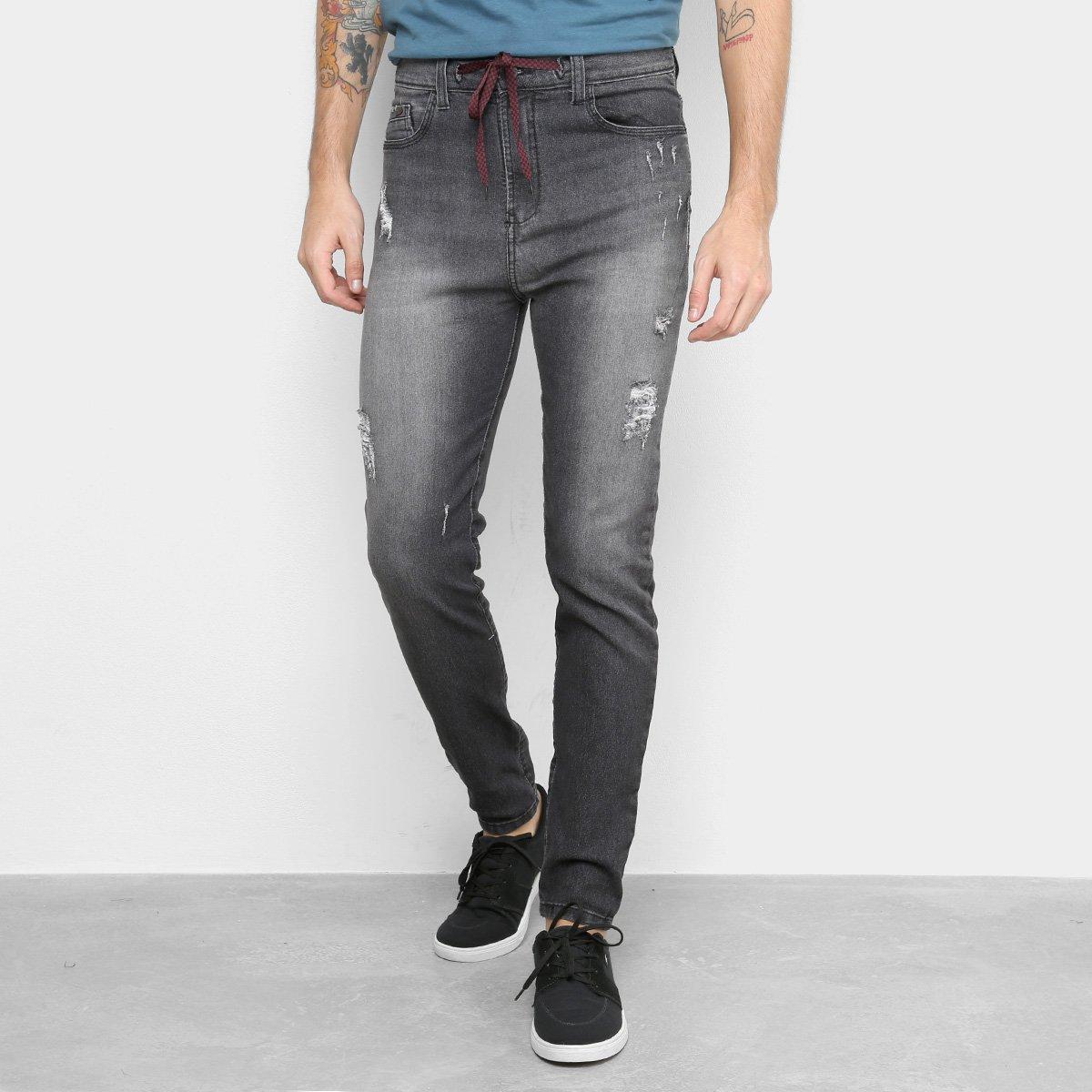 Calça Jeans HD Rocker Masculina
