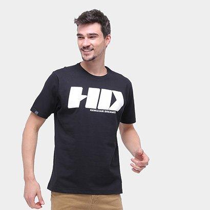 Camiseta Hd Básica Logo Masculina