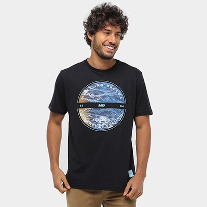 Camiseta HD Mar Masculina