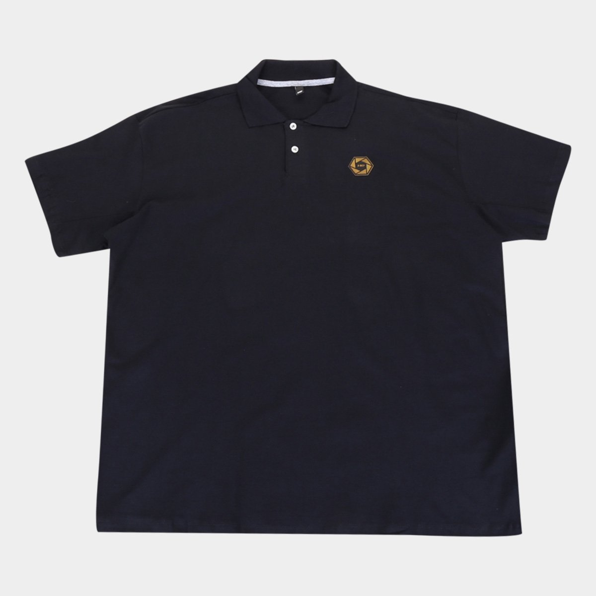 Camisa Polo HD Plus Size Mini Logo Masculina