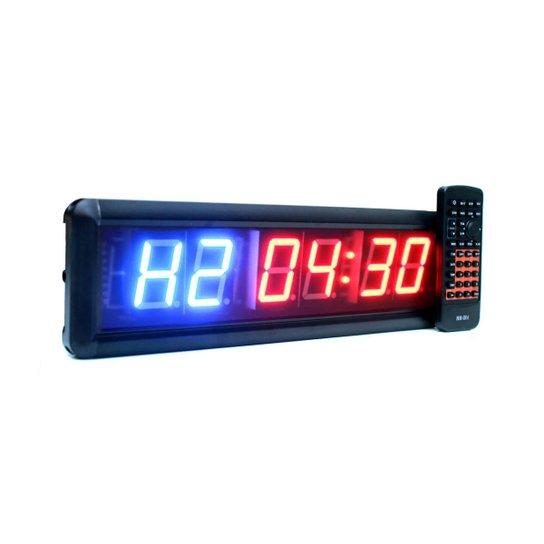 dc4a294cc78 Timer Led Cronômetro 6 Dígitos com Controle Remoto - Compre Agora ...