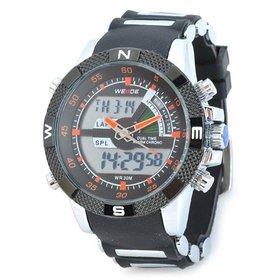 a3400536000 Relógio Weide Anadigi WH-6308 Amarelo - Preto e Amarelo - Compre ...