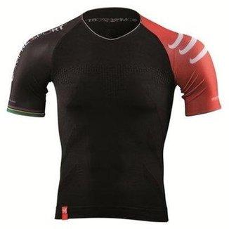 Camisa de Compressão Compressport Triathlon 07f1174f5dd6a