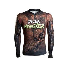 5b4bdccce7 Camiseta de Pesca Brk River Monster Trairão GOLA CONFORT V