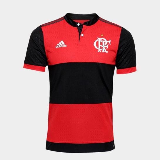 272f5e683a40a Camisa Flamengo I 17 18 s nº - Jogador Adidas Masculina - Compre ...