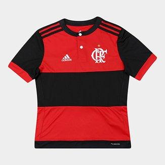 d89126222b Camisa Flamengo Infantil I 17/18 s/nº Torcedor Adidas