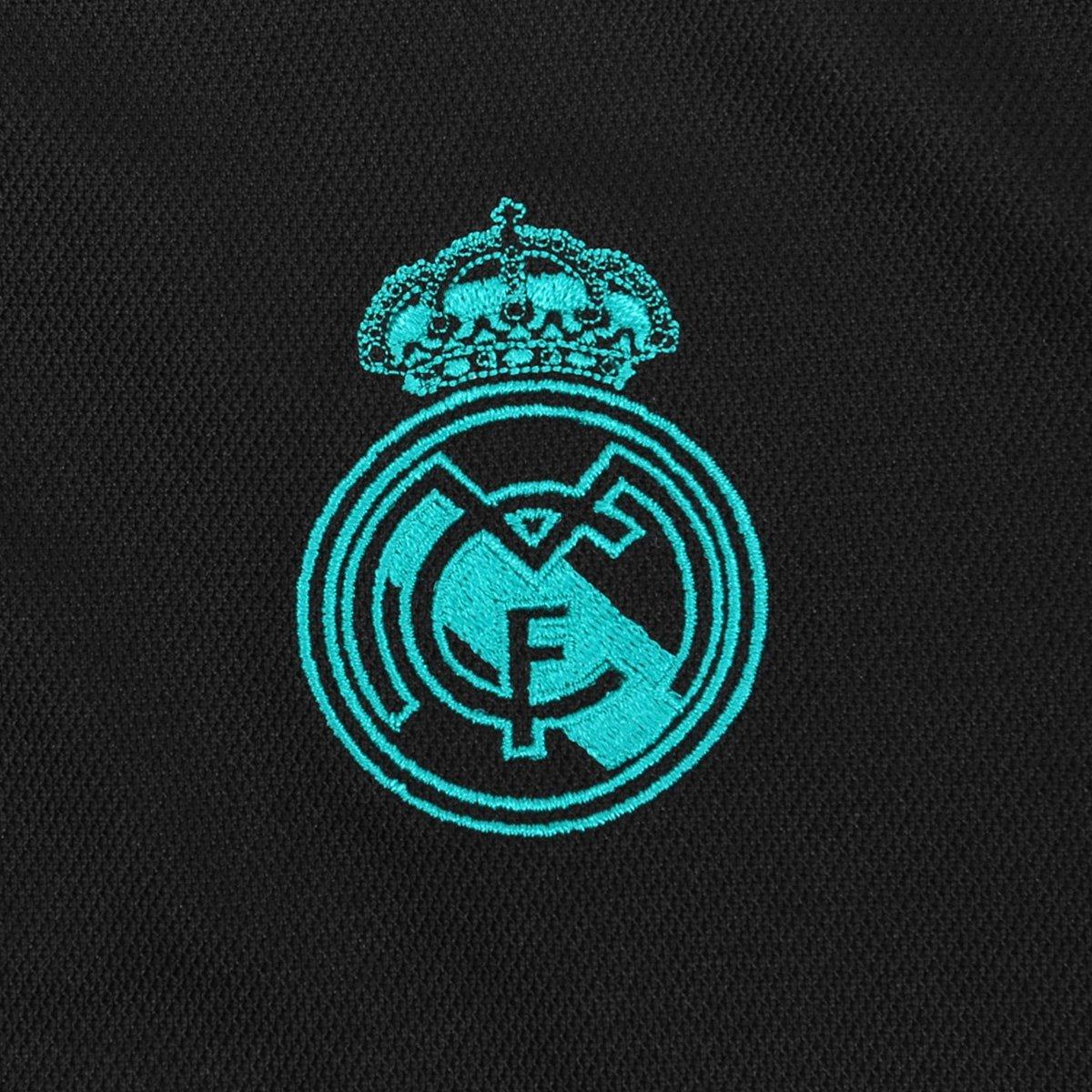 1b293f548 Camisa Real Madrid Infantil Away 17 18 s nº Torcedor Adidas
