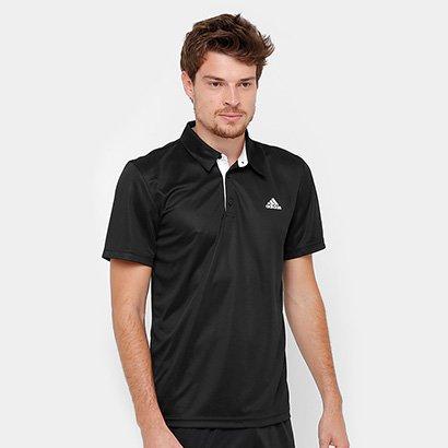 Camisa Polo Adidas Approach Proteção UV Masculina