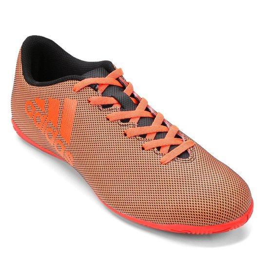 8b327a2c97 Chuteira Futsal Adidas X 17.4 IN - Laranja