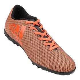 4365772815 COLLECTION. (4). Chuteira Society Adidas X 17.4 TF Masculina