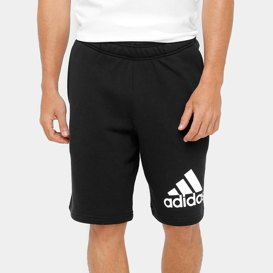 13e53c8f6 Bermuda Adidas Knit Ft Masculino - Preto | Netshoes
