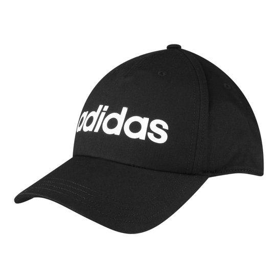76da81b888a50 Boné Adidas Aba Curva Daily Masculino - Preto - Compre Agora