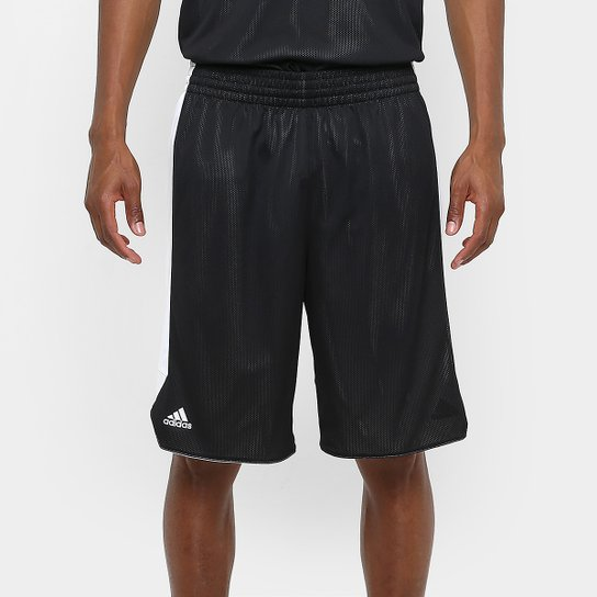031bbeddf1 Bermuda Adidas Treino Dupla Face Masculina - Preto - Compre Agora ...