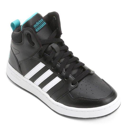 a3f03101f Tênis Couro Cano Alto Adidas Cf Super Hoops Mid W Feminino   Netshoes