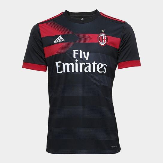 d8f888116 Camisa Milan Third 17 18 s nº Torcedor Adidas Masculina - Compre ...