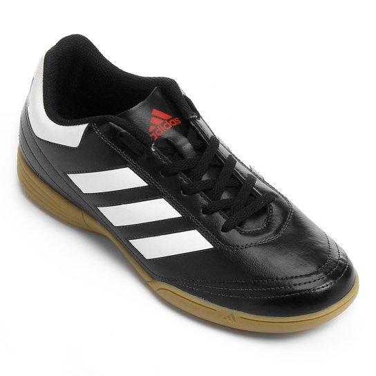 2bdf98ba2ec1a Chuteira Futsal Adidas Goletto 6 IN - Preto - Compre Agora