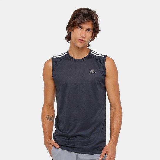 7d494a476c09b Camiseta Regata Adidas Ess 3S Egb Masculina | Netshoes