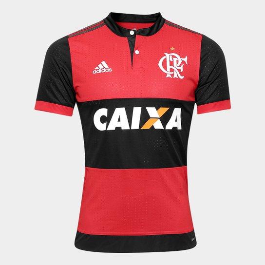 df5122cde Camisa Flamengo I 17 18 s n° C  Patrocínio - Jogador Adidas ...