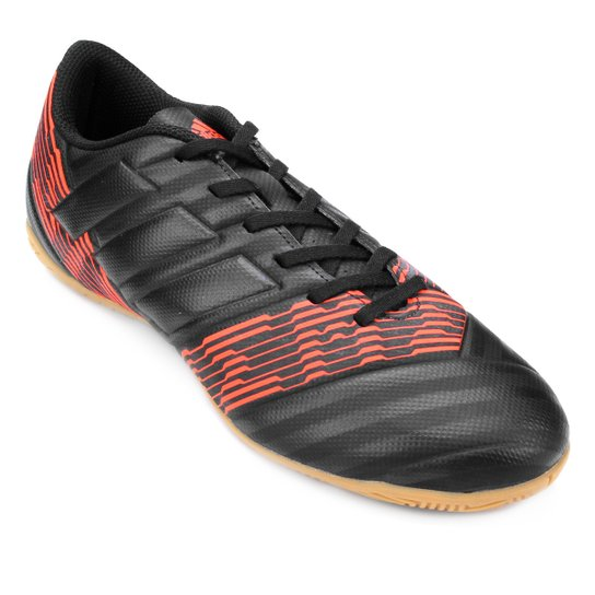 Chuteira Futsal Adidas Nemeziz 17.4 IN Masculina - Preto - Compre ... 4c274f9ec48f3