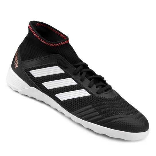 76c5c7e279 Chuteira Futsal Adidas Predator 18 3 IN - Preto - Compre Agora ...