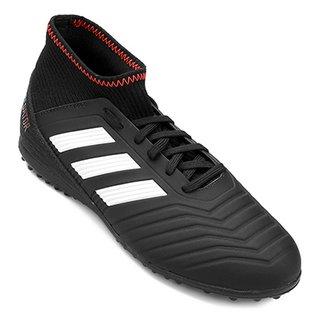 Chuteira Society Infantil Adidas Predator 18 3 TF Masculina 8ebeacc13eeae