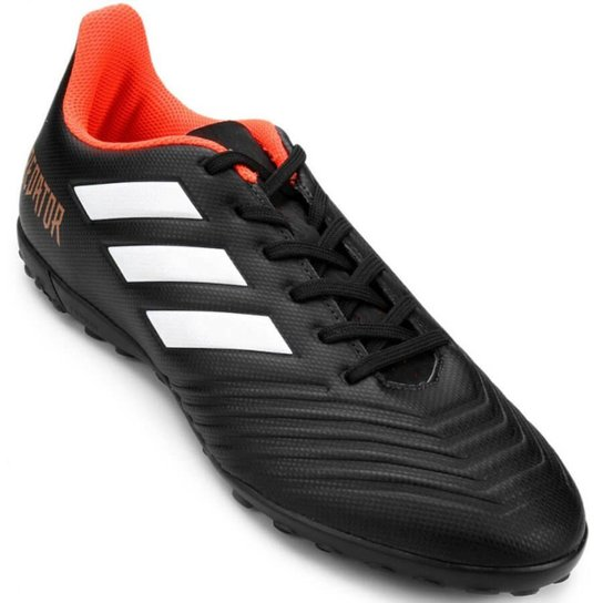 ... Chuteira Society Adidas Predator 18 4 TF Masculina - Preto the latest  eb4aa 7dbc9  Foto Chuteira Society Adidas Nemeziz Messi Tango 18.4 ... a9d466af6fd3b