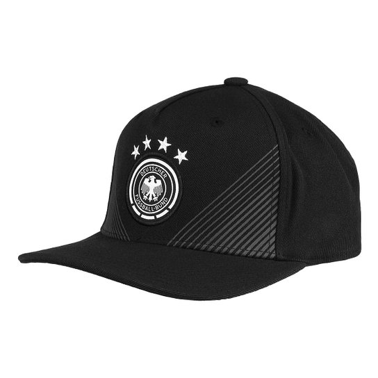 60da78ca276b6 Boné Adidas Seleção Alemanha Aba Reta - Preto - Compre Agora