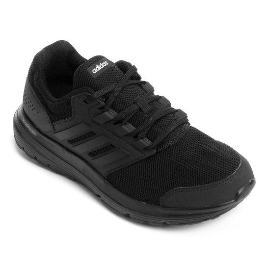 9ca74b359d Tênis Adidas Galaxy 4 Masculino - Preto - Compre Agora