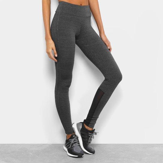 Calça Legging Adidas M 3S Feminina - Preto - Compre Agora  b84d7ec3878fa