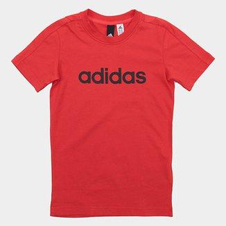 Camiseta Infantil Adidas Mc Yb Lin Masculina e04ceb8be26aa