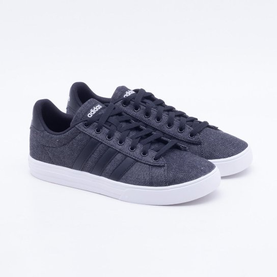 Tênis Adidas Daily 2 Masculino - Preto - Compre Agora  1aaa6e386bfcc