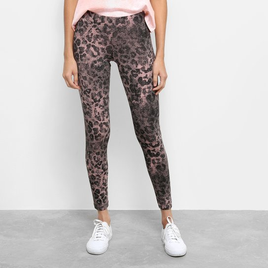982d488cb Calça Legging Adidas Essentials Allover Print Feminina | Netshoes