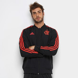 Jaqueta Flamengo Viagem Adidas Masculina 7d63911709f0c
