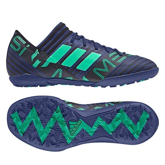 ed3b605c68 Chuteira Society Adidas Nemeziz Messi 17 3 TF Infantil - Compre ...