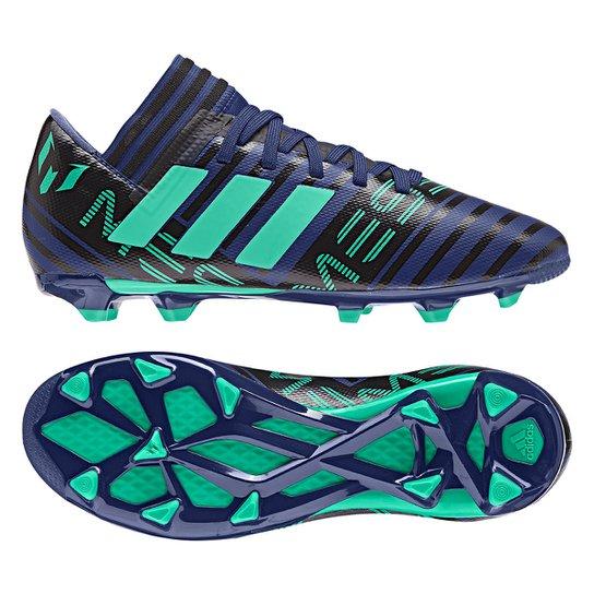 ae22410bbb44f Chuteira Campo Infantil Adidas Nemeziz Messi 17.3 FXG | Netshoes