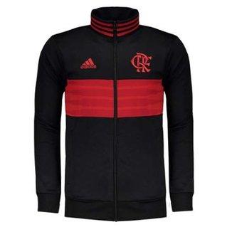 Jaqueta Flamengo 3Stripes Adidas Masculina 5b7f268d91b44