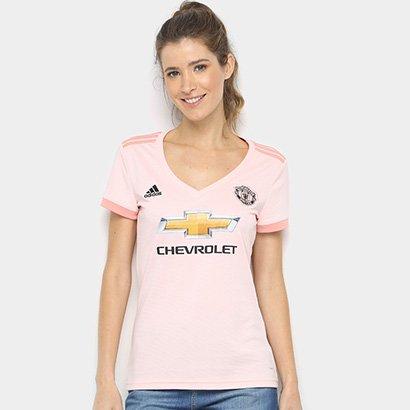 Camisa Manchester United Away 2018 s/n° - Torcedor Adidas Feminina