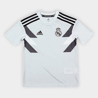 4273fc6cb Camisa Real Madrid Infantil Pré-Jogo – Torcedor Adidas