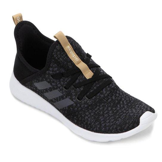 c722ab257 Tênis Adidas Cloudfoam Pure W Feminino - Preto - Compre Agora