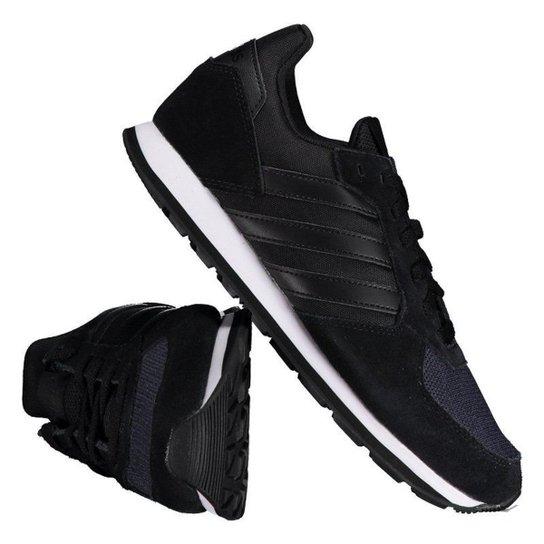 d0514ea2d Tênis Adidas 8K Feminino - Preto   Netshoes