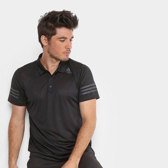 d608a84a39e Camisa Polo Adidas Climacool Masculina - Preto - Compre Agora